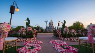 Ten una boda de cuento de hadas en el corazón de Disneyworld