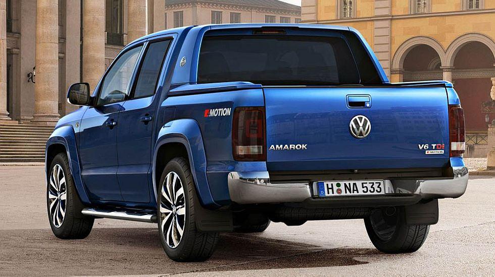 La Volkswagen Amarok presentó su primer restyling y ahora llegará con un motor V6 TDI. (fotos: difusión)