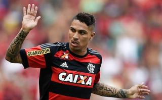 Paolo Guerrero marcó en derrota de Flamengo 2-1 ante Fortaleza