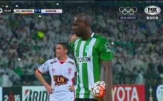 Atlético Nacional vs. Huracán: en menos de un minuto, dos goles