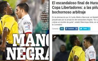 Indignación en Argentina por arbitraje de venezolano Argote