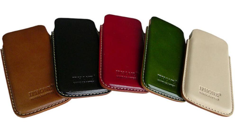 La marca iPhone de China vende carteras, bolsos y fundas de teléfono.