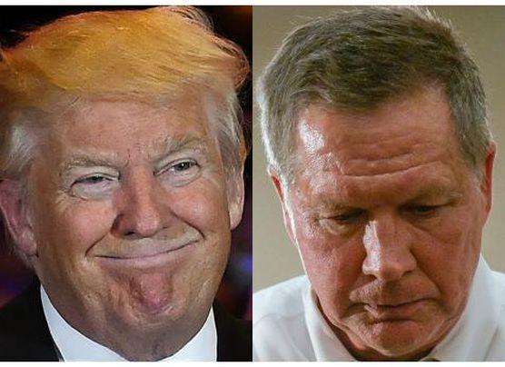Kasich se retira y Trump es el virtual candidato republicano