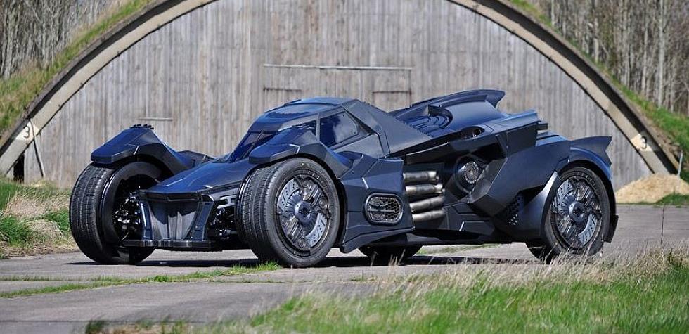Este Batimóvil participará en la Gumball 3000