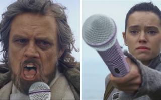 Luke Skywalker canta sobre su soledad en un divertido video