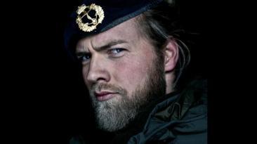 Instagram: Teniente es sensación por su parecido con un vikingo