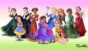 ¿Reconoces a estas mujeres icónicas convertidas en princesas?