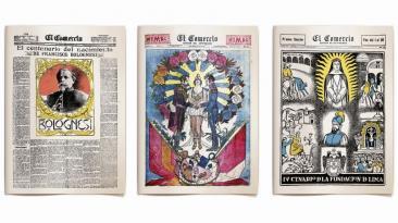 El Comercio cumple 177 años: mira las portadas más memorables