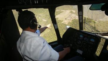 Machu Picchu: fotos del cuestionado vuelo de Ollanta Humala