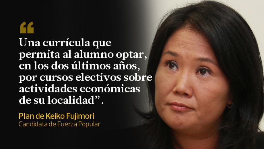 Keiko Fujimori y PPK: 5 propuestas sobre educación