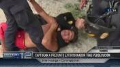 Delincuente es capturado tras balacera con la policía [VIDEO]