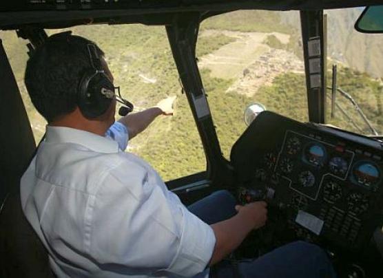 Machu Picchu: helicóptero sí sobrevoló zona prohibida