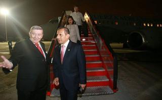 Ollanta Humala llegó a España para reunirse con rey Felipe VI