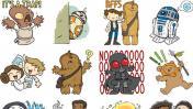 Facebook Messenger lanzó nuevos stickers de Star Wars