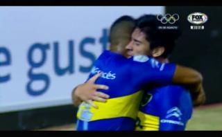 Boca le ganó 3-1 a Cerro Porteño y avanzó en la Libertadores