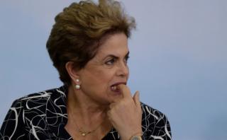 Dilma Rousseff sabrá la próxima semana si pierde la presidencia