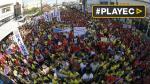 Filipinas: miles participan en la recta final de las elecciones - Noticias de benigno aquino