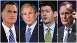 Los líderes republicanos que no apoyan a Donald Trump - Noticias de paul george