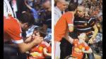 El hermoso gesto de Juan Mata con un niño con discapacidad - Noticias de niños con discapacidad