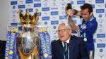 Leicester: Ranieri fue bañado en champagne por sus dirigidos - Noticias de nicolas fuchs
