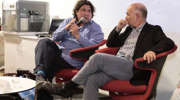 Gastón Acurio participó en el conversatorio con Pere Castells, el viernes último en la PUCP. (Foto: PUCP)