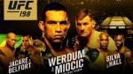UFC 198 llega a Brasil: la mejor cartelera del año, este sábado - Noticias de mauricio rua