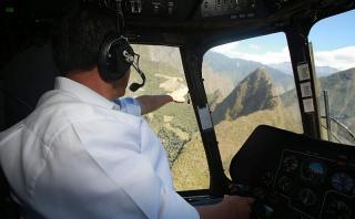 Machu Picchu: niegan que sobrevuelo de Humala haya causado daño