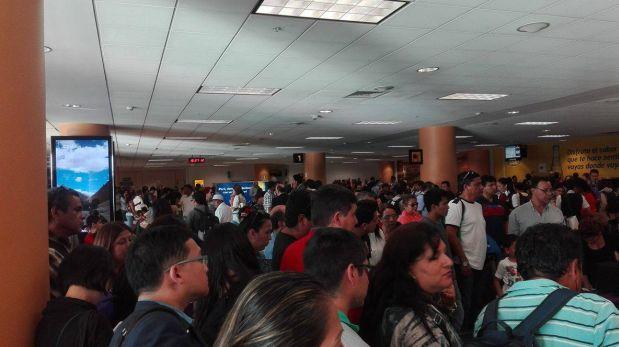 Aeropuerto Jorge Chávez: vuelos se reiniciaron luego de 3 horas
