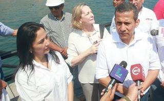 Humala niega que Nadine haya usurpado sus funciones en el 2012