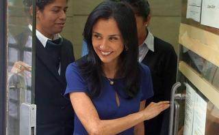 "Nadine Heredia sobre viaje a Brasil: ""Acompañé a la ministra"""
