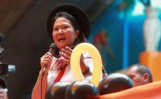 Keiko Fujimori inicia mañana su gira en el sur del país