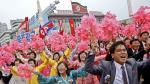 Desfile a la gloria del líder Kim Jong-Un en Corea del Norte - Noticias de kim il sung