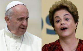 Mensaje del papa Francisco ante la crisis que vive Brasil