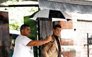 Cristiano Ronaldo y una misteriosa visita a Londres