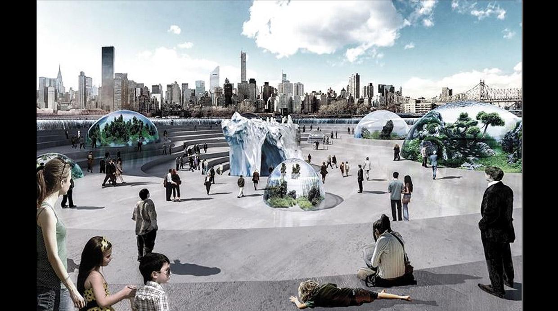 Este proyecto de acuario lleva la vida marina a Nueva York