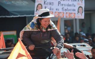 Keiko plantea que reservistas combatan la inseguridad ciudadana