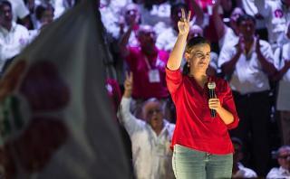 Verónika Mendoza cree que Keiko y PPK deben debatir en el sur