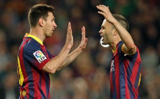 Barcelona: Messi e Iniesta igualarían este récord de Xavi