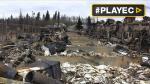 Canadá: así quedó Fort McMurray tras los incendios [VIDEO] - Noticias de caida de arbol