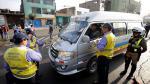 Chofer trató de sobornar a policía ante fiscalizadores de Lima - Noticias de papeletas de tránsito