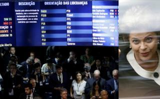 Brasil: Así fue la votación que sacó a Dilma del poder [VIDEO]