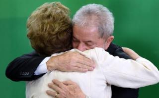 Brasil: Dilma despidió a Lula da Silva tras perder el poder