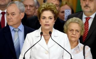 """Dilma tras suspensión: """"Soy víctima de la mayor brutalidad"""""""