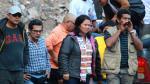 Keiko Fujimori: imágenes del accidente que sufrió su comitiva - Noticias de accidente en huancavelica