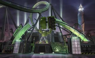 Así será la renovada montaña rusa de Hulk en Florida