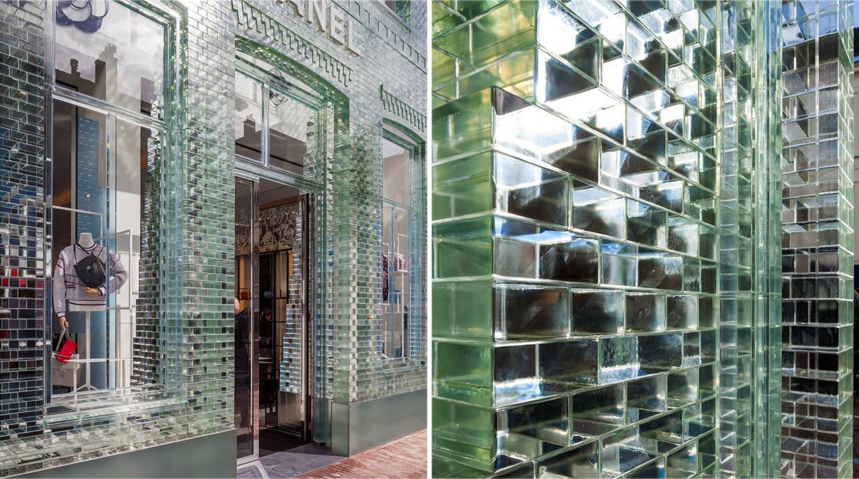 Esta fachada de vidrio combina tradición con tecnología | El ...