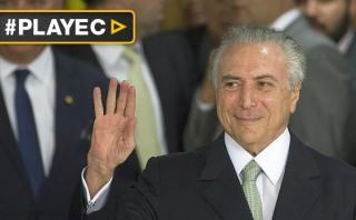 Michel Temer asumió como presidente de Brasil en lugar de Dilma