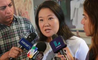 Keiko: PPK debió dar el ejemplo y no irse por el terrorismo