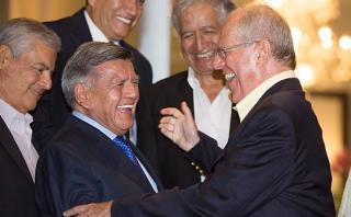 CPI: 46% cree que a PPK le perjudica el apoyo de César Acuña