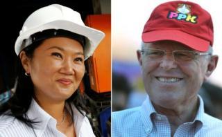 Así van Keiko y PPK en las encuestas antes del primer debate